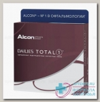 Alcon Dailies Total 1 однодневные контактные линзы D 14.1/R 8.5/ -12.00 N 90