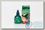 Бриллиантовый зеленый леккер спиртовой р-р бриллиант. зеленого 1% 20мл с кисточк