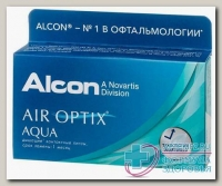 Alcon Air Optix Aqua 30тидневные контактные линзы D 14.2/R 8.6/ +5.50 N 6