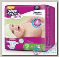 Подгузники детские Helen Harper Baby Diapers mini р-р 2 (3-6кг) N 16