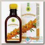 Облепиховое масло льняное пищевое с растит экстр облепихи нерафинир 200мл N 1