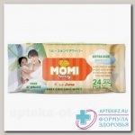 Momy Family салфетки детские влажные 30х20см N 24