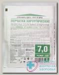 Перчатки SF хирург латексные стер опуд р 7 пара N 1