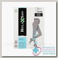 Relaxsan Microfiber 1 класс компрессии (18-22 mmHg) 140 den р-р 3 черн N 1