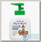 LION Kirei Kirei Пенное антибактериальное мыло для рук, флакон-дозатор, 250 мл N 1